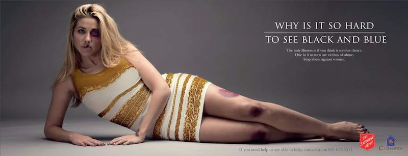 #TheDress-salvation-army