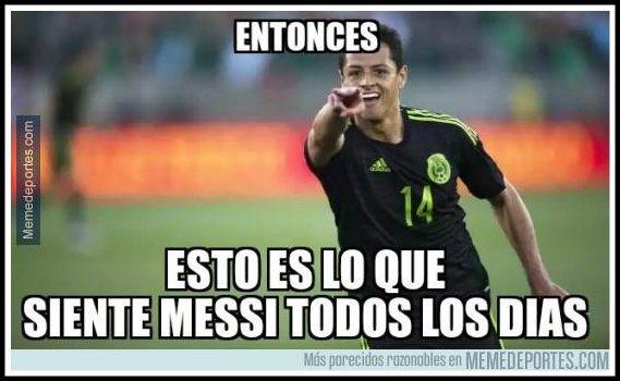 Memes México vs Ecuador