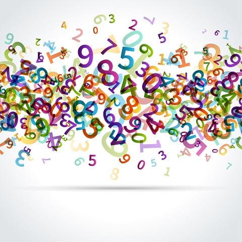 números, datos