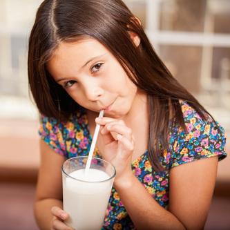 leche niños