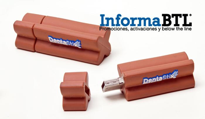 DENTASTIX USB 01 JCA BAJA LOGO