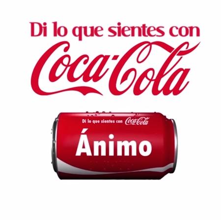 Di lo que sientes con Coca-Cola