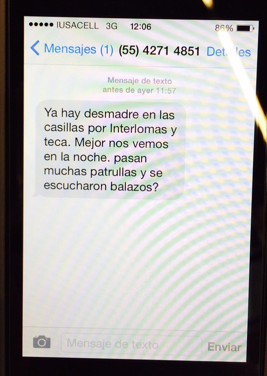 Mensaje SMS 2