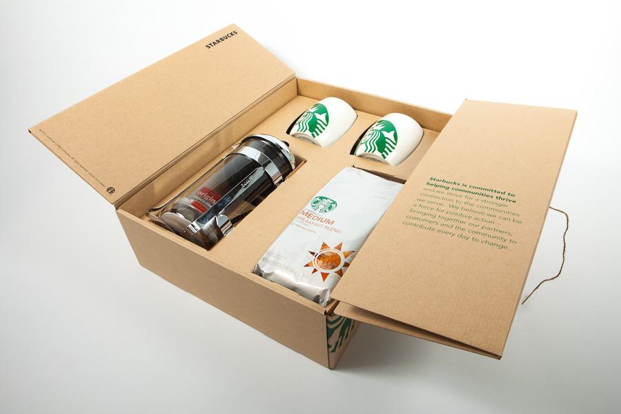 Retail Packaging - Starbucks