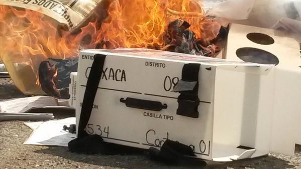 Elecciones en Oaxaca