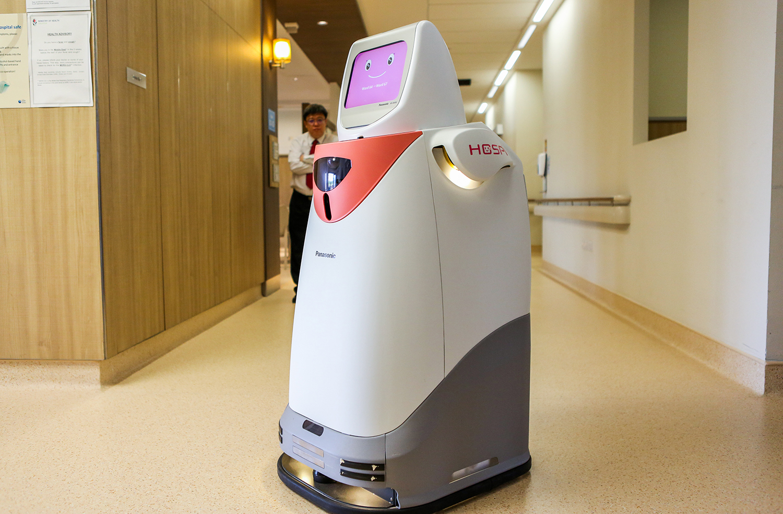 Panasonic Robot HOSPI 02
