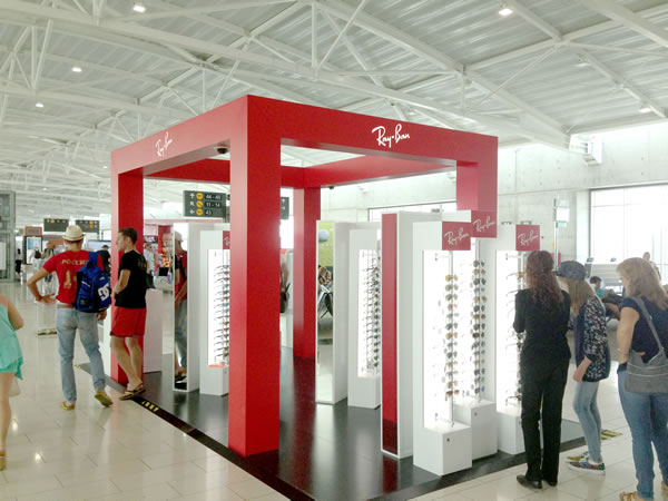 Pop-Up Store Rayban