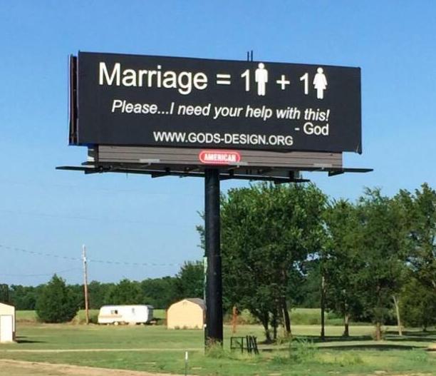 billboardreligiosovsmatrimoniogay
