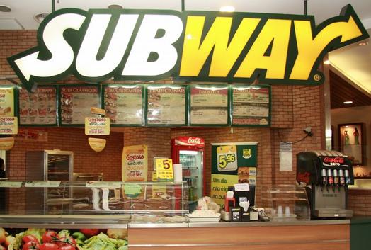 Subway nutricion