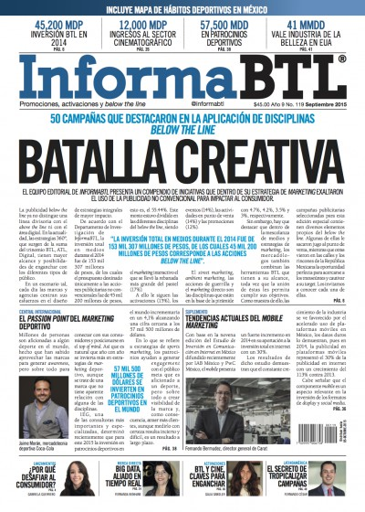 Portada InformaBTL septiembre 2015