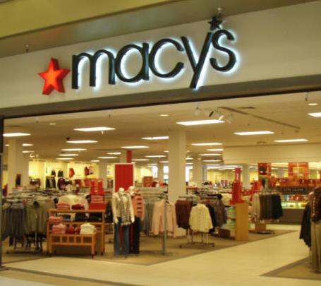 Apparel retailer cierre Macys