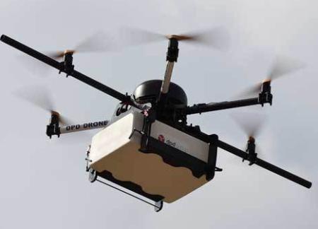 Retail carrera drones