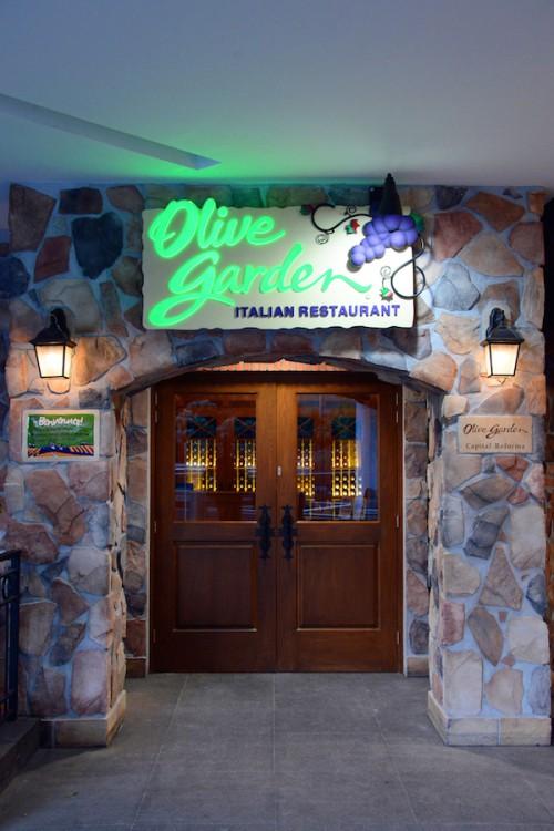 fachada Olive Garden