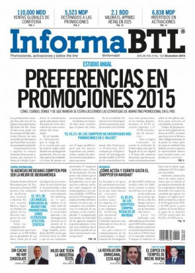 Portada InformaBTL diciembre 2015
