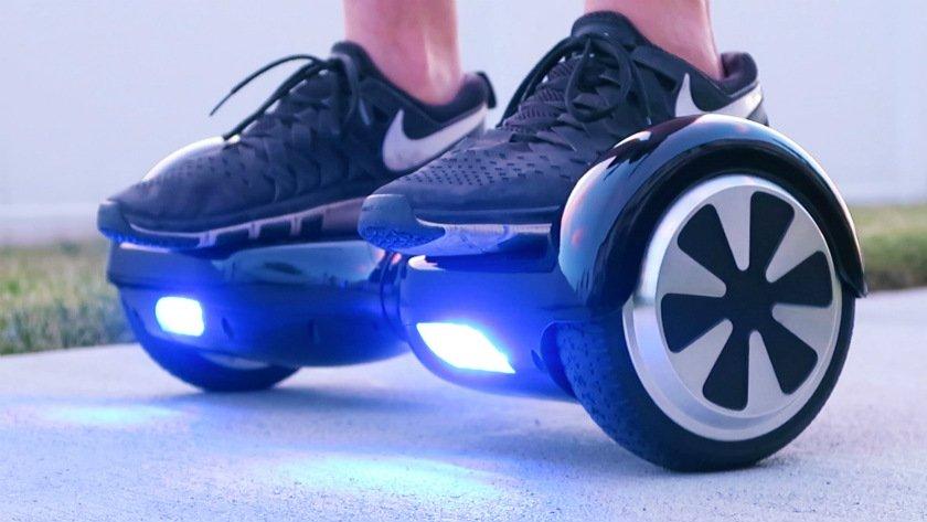 Hoverboard inmovilizan