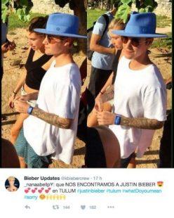 Justin Bieber en Tulum