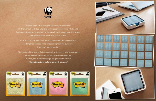 WWF POST-IT