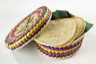 Tortillas de maíz hechas con Maseca
