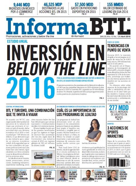 Portada InformaBTL abril 2016