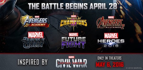 Busca Marvel llevar Civil War a gamers