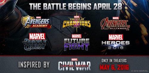 Busca Marvel llevar Civil War a gamers