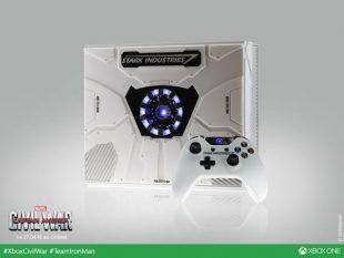 Lanzan Xbox promocional de Capitan América: Civil War