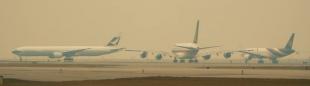 Aviones grandes impulsan ganancias