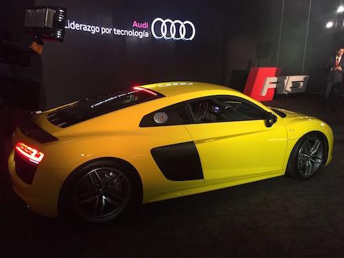 Lanzamiento Audi R8