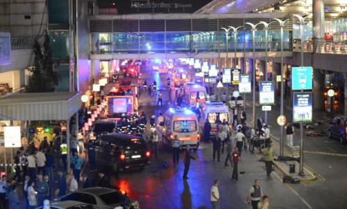 Aeropuerto Estambul atentado
