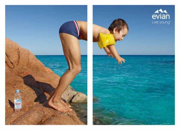 Evian Diver Cannes Lions