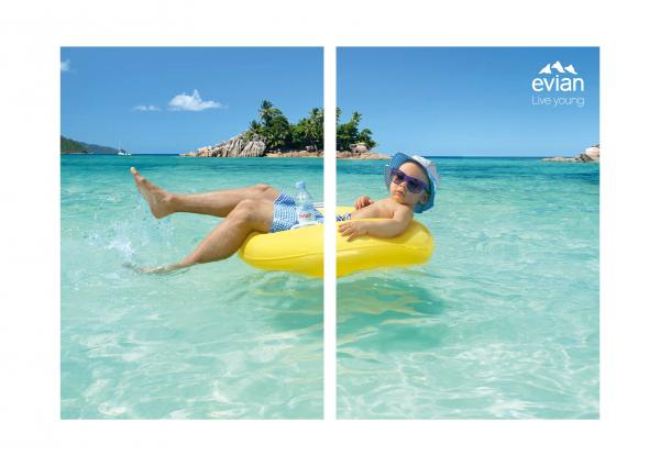 Evian Pool Lounger Cannes Lions