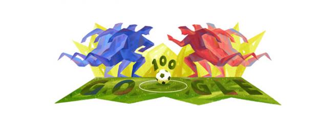 Google Doodle Copa America