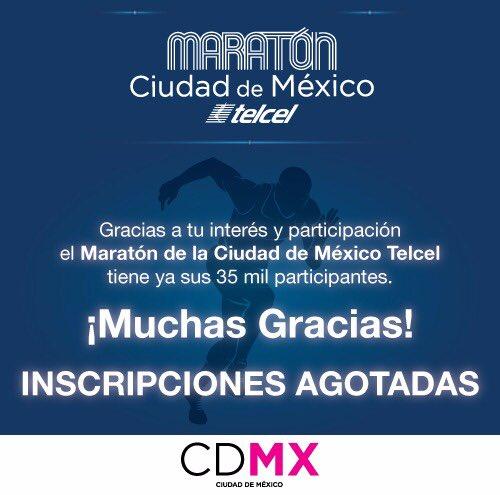 Medio Maraton CDMX antesala maraton