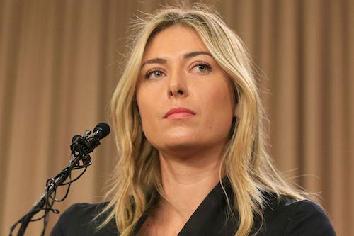 Maria Sharapova sancion