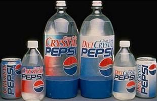 Relanzamiento Pepsi Crystal