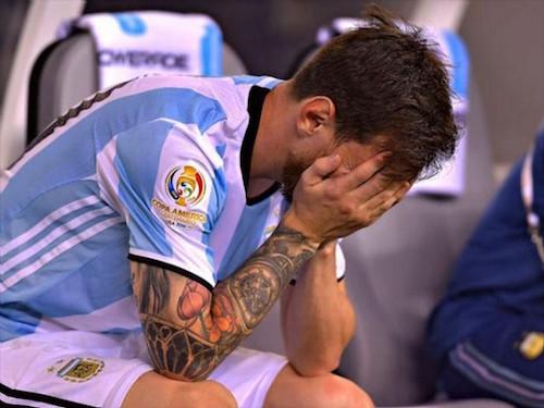 Salida de Lionel Messi
