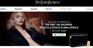 YSL al e-commerce canadiense
