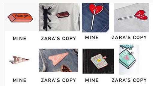 Zara acusado plagio