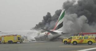 Accidente aeropuerto Dubai