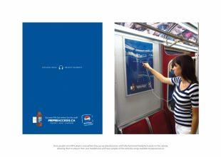 Campañas BTL Pepsi: Access MP3, BBDO Canada