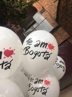 Campana BTL cumpleanos Bogota