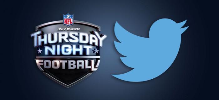 Twitter partidos de NFL