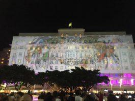 Video Mapping bienvenida Rio