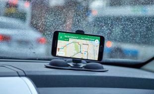 GOOGLE, maps, aplicación, auto