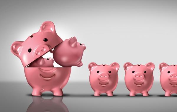 economia, dinero, ahorro, puercos, alcancia