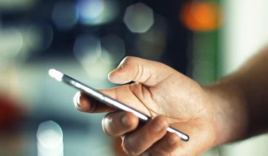 smartphone SMS E-COMMERCER