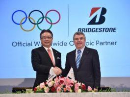 Bridgestone debut patrocinador