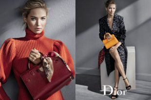Jennifer Lawrence, Dior. Outdoor