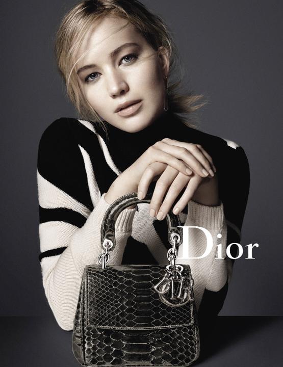 Jennifer Lawrence, Dior. Outdoor