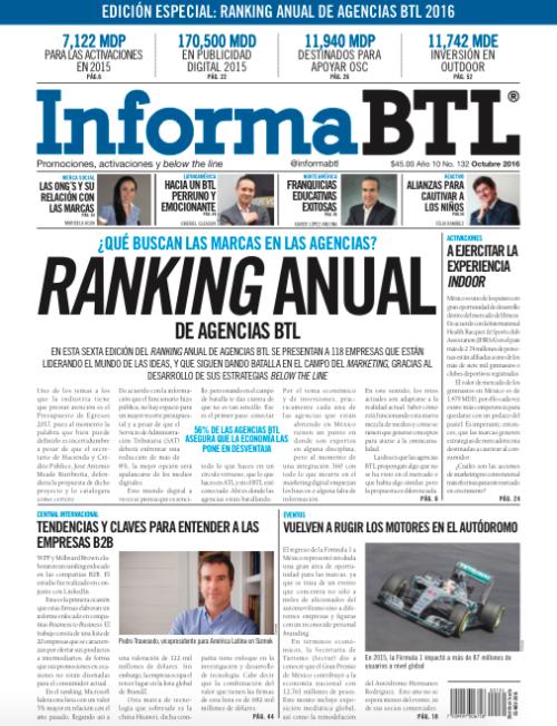 Portada InformaBTL Octubre 2016